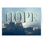 Esperanza - estímulo tarjetas