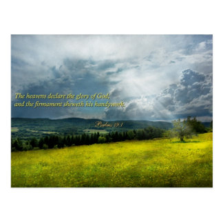 - Esperanza eterna - salmos inspirados 19-1 Tarjetas Postales