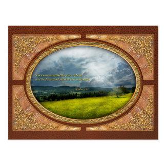 - Esperanza eterna - salmos inspirados 19-1 Tarjeta Postal