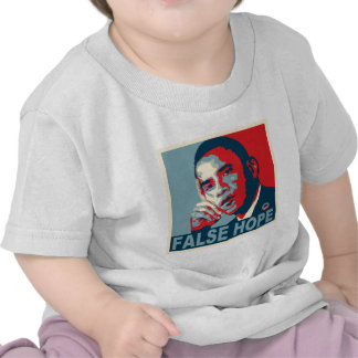 Esperanza falsa Obama Camiseta