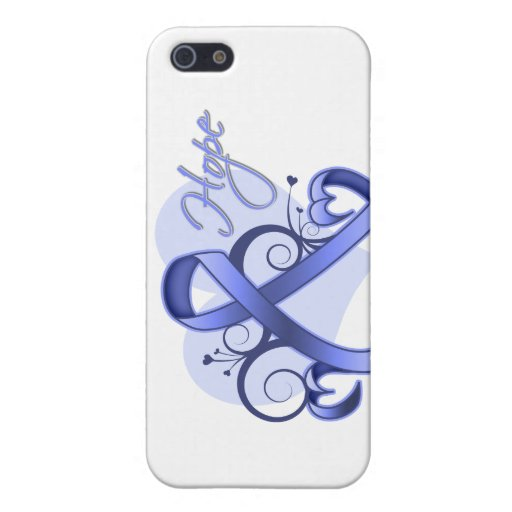 Esperanza floral de la cinta - cáncer de estómago iPhone 5 protector