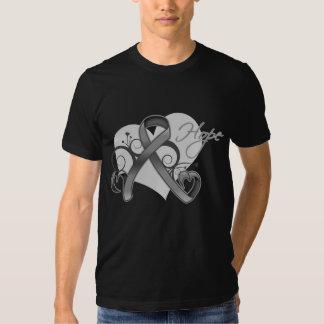 Esperanza floral de la cinta - diabetes camisas