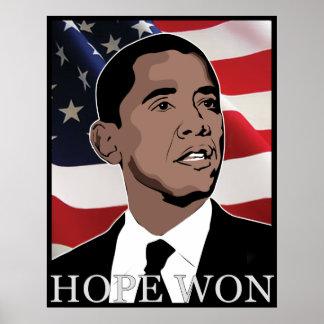 esperanza ganada póster