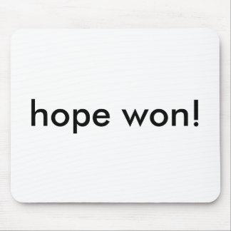 ¡esperanza ganada tapete de raton