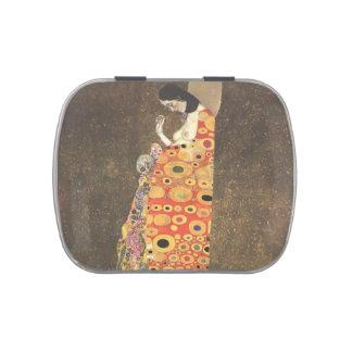 Esperanza II de Gustavo Klimt- Jarrones De Dulces