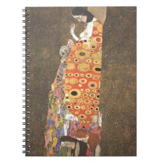 Esperanza II de Gustavo Klimt Libro De Apuntes Con Espiral