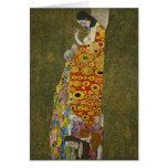 Esperanza II de Gustavo Klimt Tarjetón