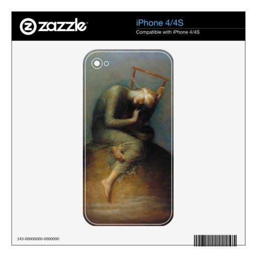 Esperanza iPhone 4S Calcomanías