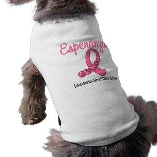 Esperanza Liston Rosa - Cancer de Mamá Ropa De Perro