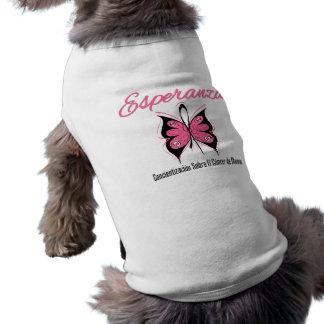 Esperanza Mariposa - Cancer de Mama Dog Clothing