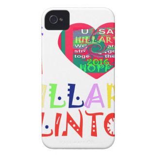 Esperanza mejor Hillar colorido asombroso hermoso Carcasa Para iPhone 4