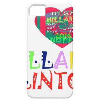 Esperanza mejor Hillar colorido asombroso hermoso Funda Para iPhone SE/5/5s