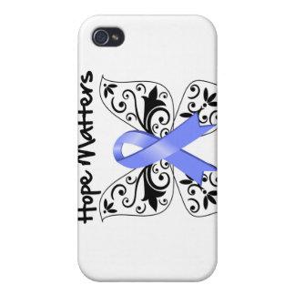 Esperanza Mers del cáncer de estómago iPhone 4 Carcasas