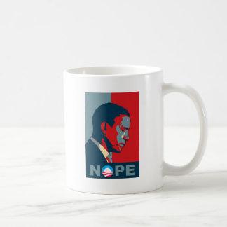 ¿Esperanza? ¡NOPE! ¡Guarde el cambio, Barack! Taza Clásica