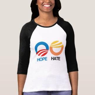 ESPERANZA (Obama) contra el ODIO (triunfo) Playera