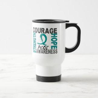 Esperanza PCOS del valor de la fuerza Tazas De Café