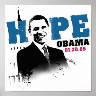 Esperanza - poster de Obama