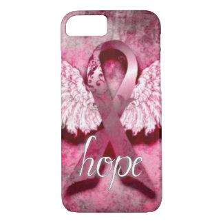 Esperanza rosada de la cinta por los diseños de funda iPhone 7