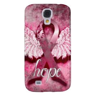 Esperanza rosada de la cinta por los diseños de Ve Funda Para Galaxy S4