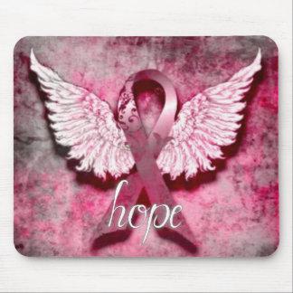Esperanza rosada de la cinta por los diseños de Ve Tapete De Ratón