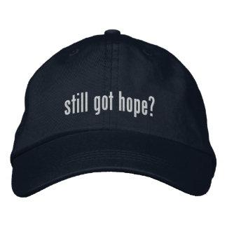 ¿Esperanza todavía conseguida? Gorra Gorra Bordada