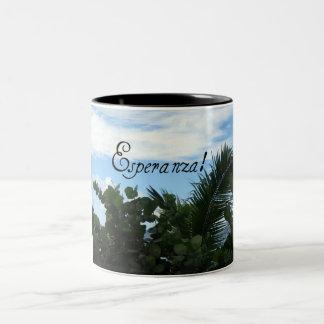 Esperanza! Two-Tone Coffee Mug