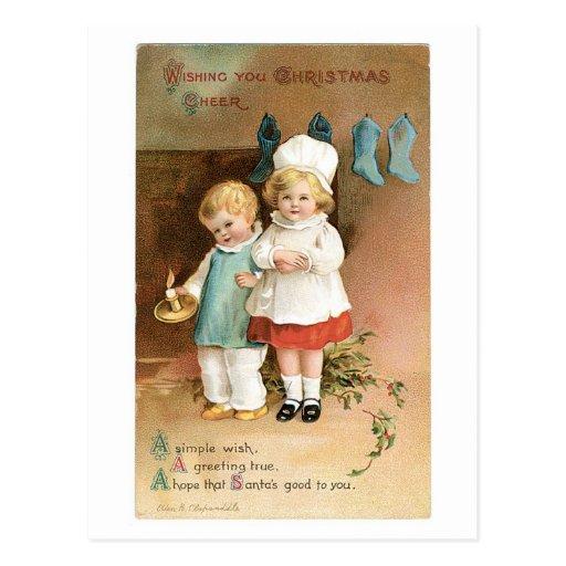 Esperanza un ese Santa bueno a usted Postal