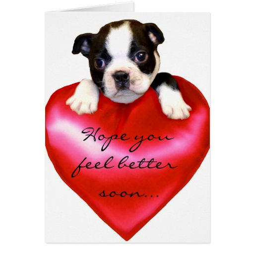 Esperanza usted siente una mejor tarjeta de felici