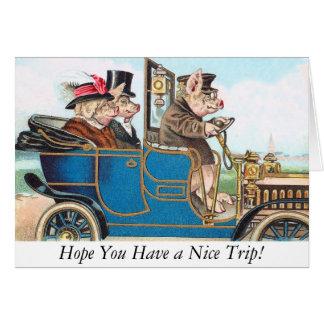 ¡Esperanza usted tiene Niza un viaje! Tarjeta de f