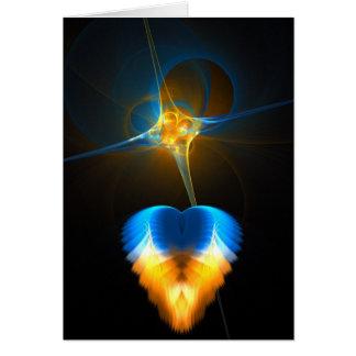 Esperanza y amor de la fe tarjeta de felicitación
