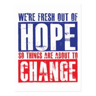 Esperanza y cambio postal
