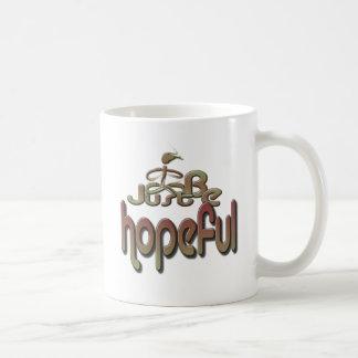 esperanzado taza