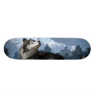 Esperar la nieve skateboards