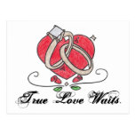 Esperas verdaderas del amor tarjetas postales