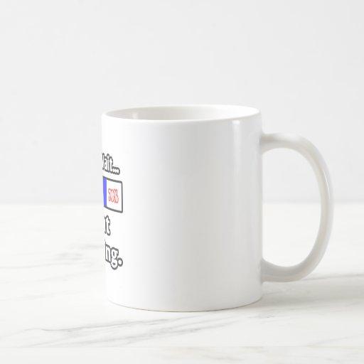 Espere por favor… a tía Loading Taza De Café