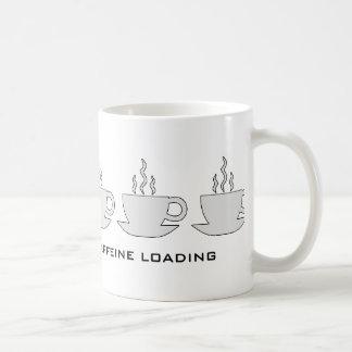 Espere por favor… Cargamento del cafeína Taza Clásica