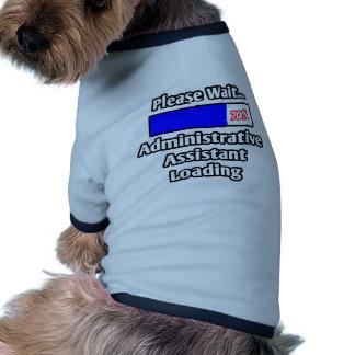 Espere por favor… el cargamento del ayudante admin ropa perro