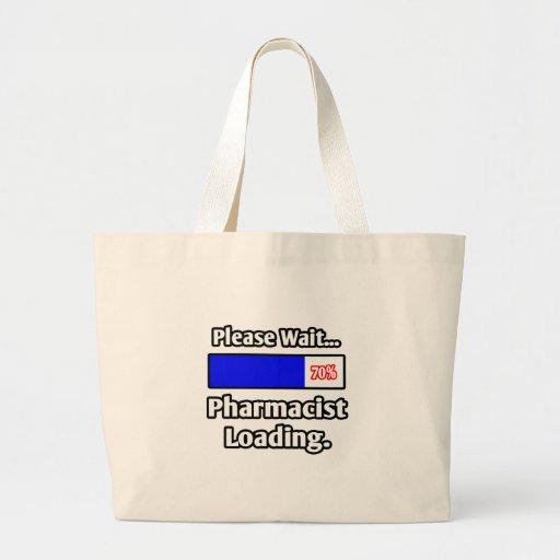 Espere por favor… el cargamento del farmacéutico bolsas