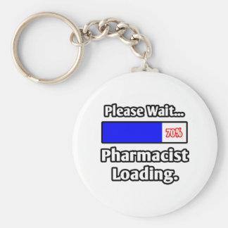Espere por favor… el cargamento del farmacéutico llavero