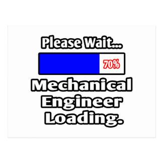 Espere por favor… el cargamento del ingeniero indu tarjetas postales