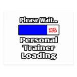 Espere por favor… el cargamento personal del instr tarjetas postales