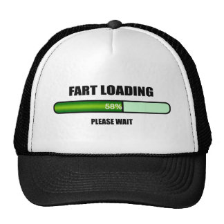 Espere por favor Fart ahora cargando Gorro