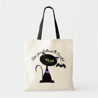 Espere que su Halloween sea bolso del truco o de l Bolsa Tela Barata