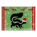 """""""Espere que su navidad no apeste"""" la tarjeta de Na"""