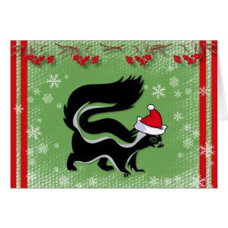 Espere que su navidad no apeste la tarjeta de Na