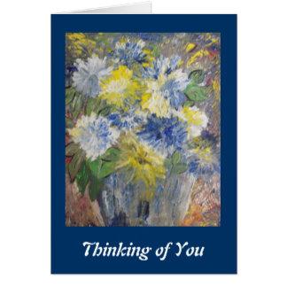 Espero que las cosas consigan mejor para usted pro tarjeta de felicitación