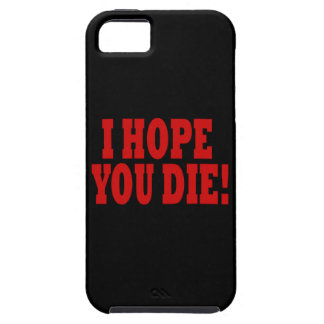 Espero que usted muera iPhone 5 fundas