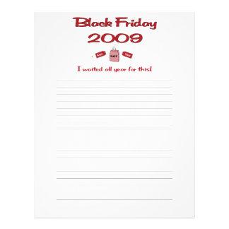Esperó todo el año las compras negras de viernes flyer personalizado