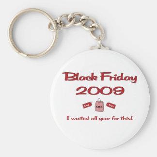 Esperó todo el año las compras negras de viernes llavero