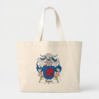 Espes Family Crest Canvas Bag